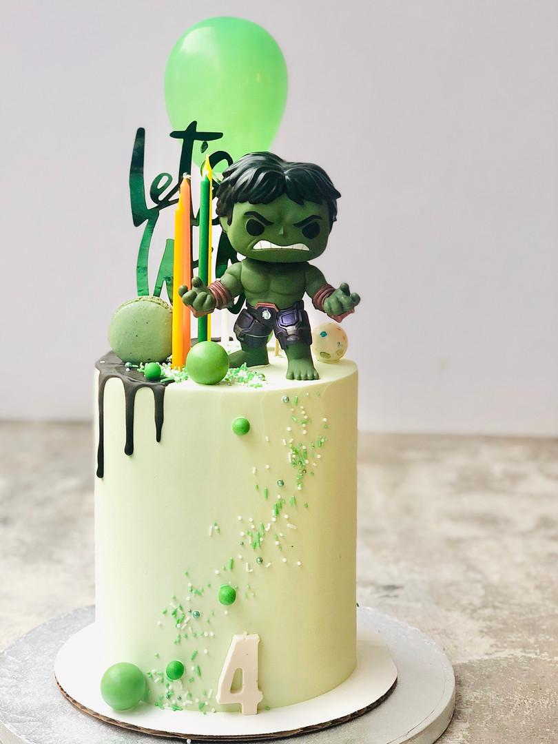 Hulk cake, 90euros