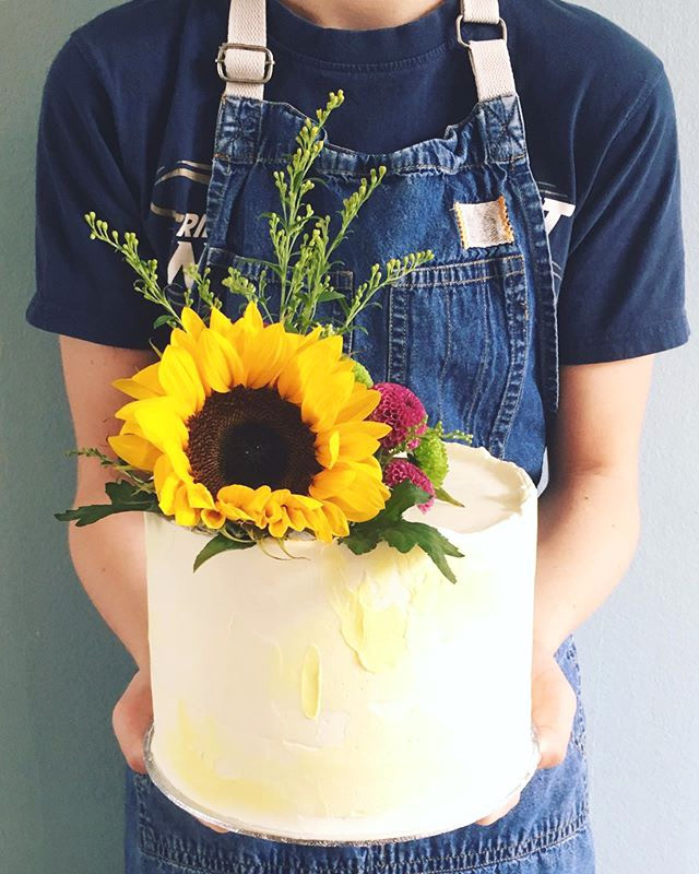 Sunflower cake, start 75euros