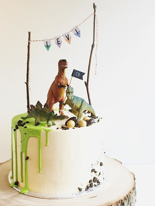 Dinosaur cake, from 78.50euros