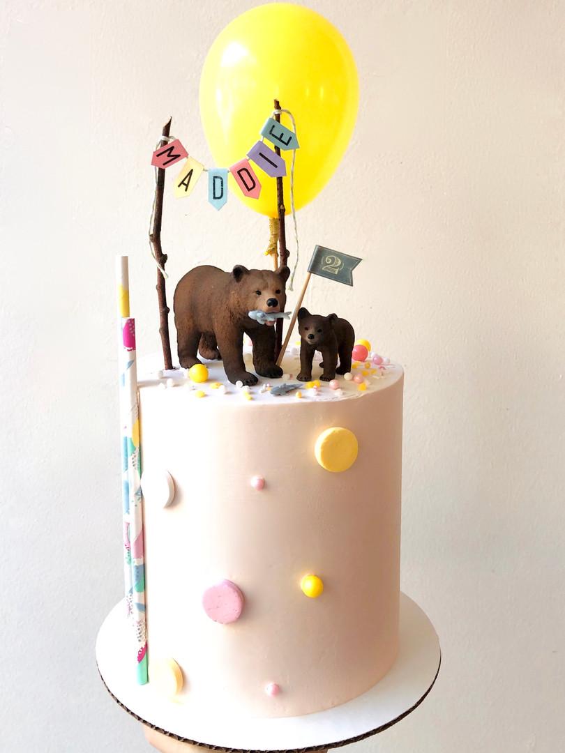 Bear cake 78.50euros