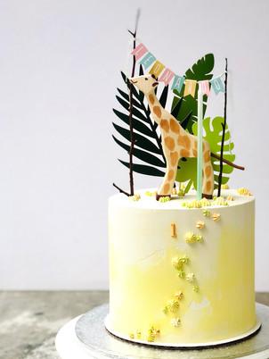 Giraf cake, from 95,00euros