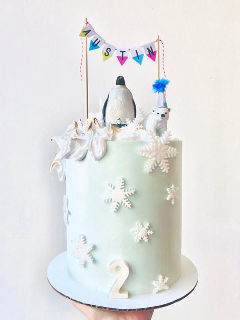 Glacier cake