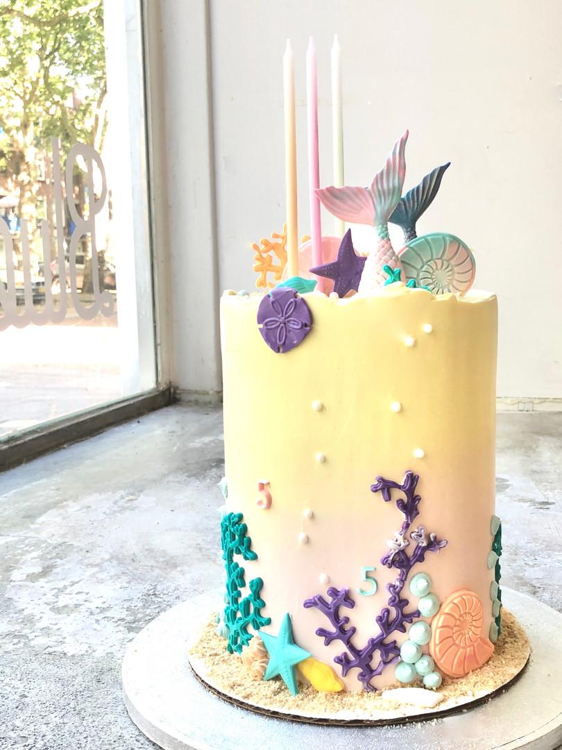 Mermaid cake, 90euros