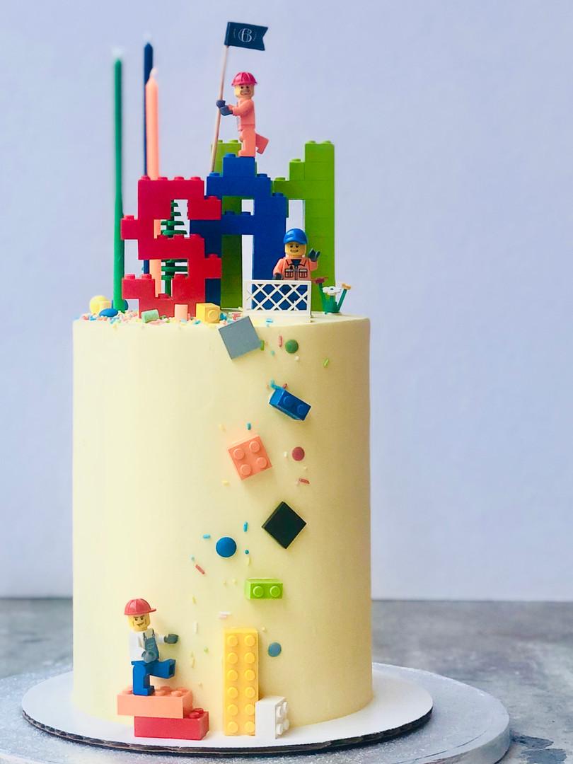 Lego cake, from 85euros
