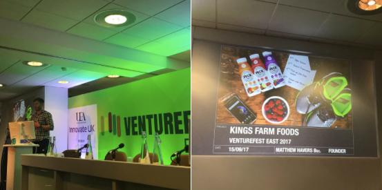 Presenting at VentureField East