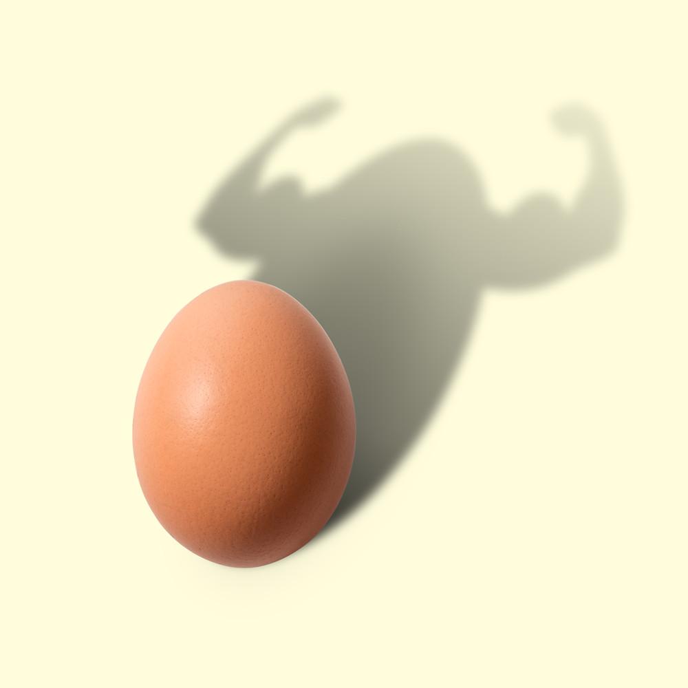 egg- smashing for protein