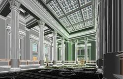 US Custom House Marble Hall