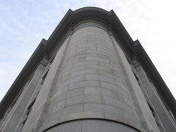 US Custom House Round Corner