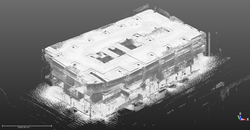 BIM Point Cloud Model of GSA Facility