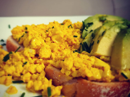 "Tofu Scrambled ""Egg"""
