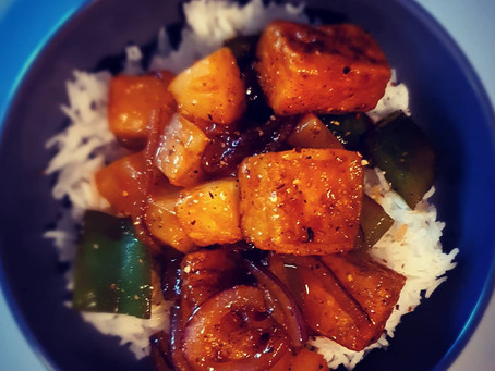 Sweet & Sour Crispy Tofu