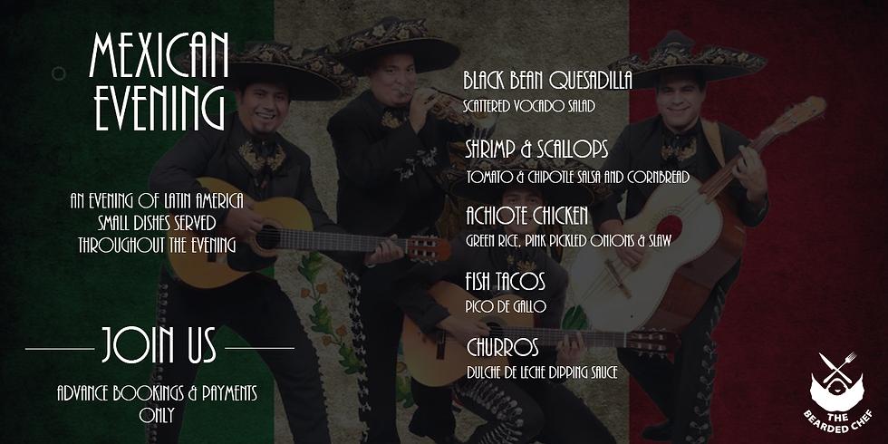 Mexican Tapas Evening
