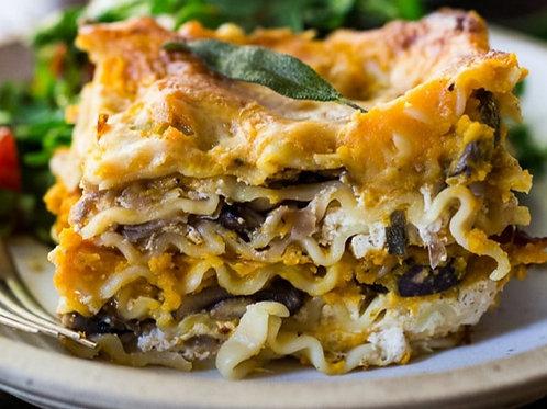 Butternut & Mushroom Lasagne