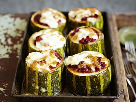 Vegetarian Stuffed Marrows