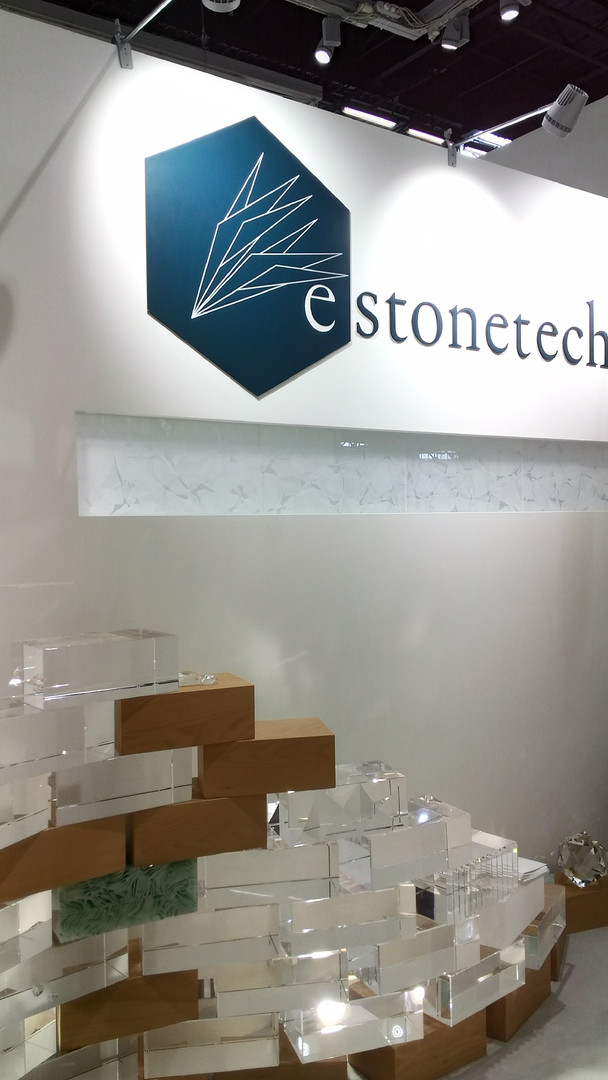 e-stonetech section of Bespoke Materials Japan