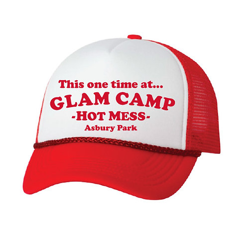 This one time at GLAM CAMP Trucker Hat