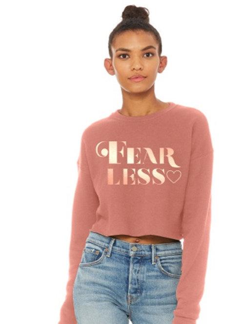 FearLess Cropped sweatshirt
