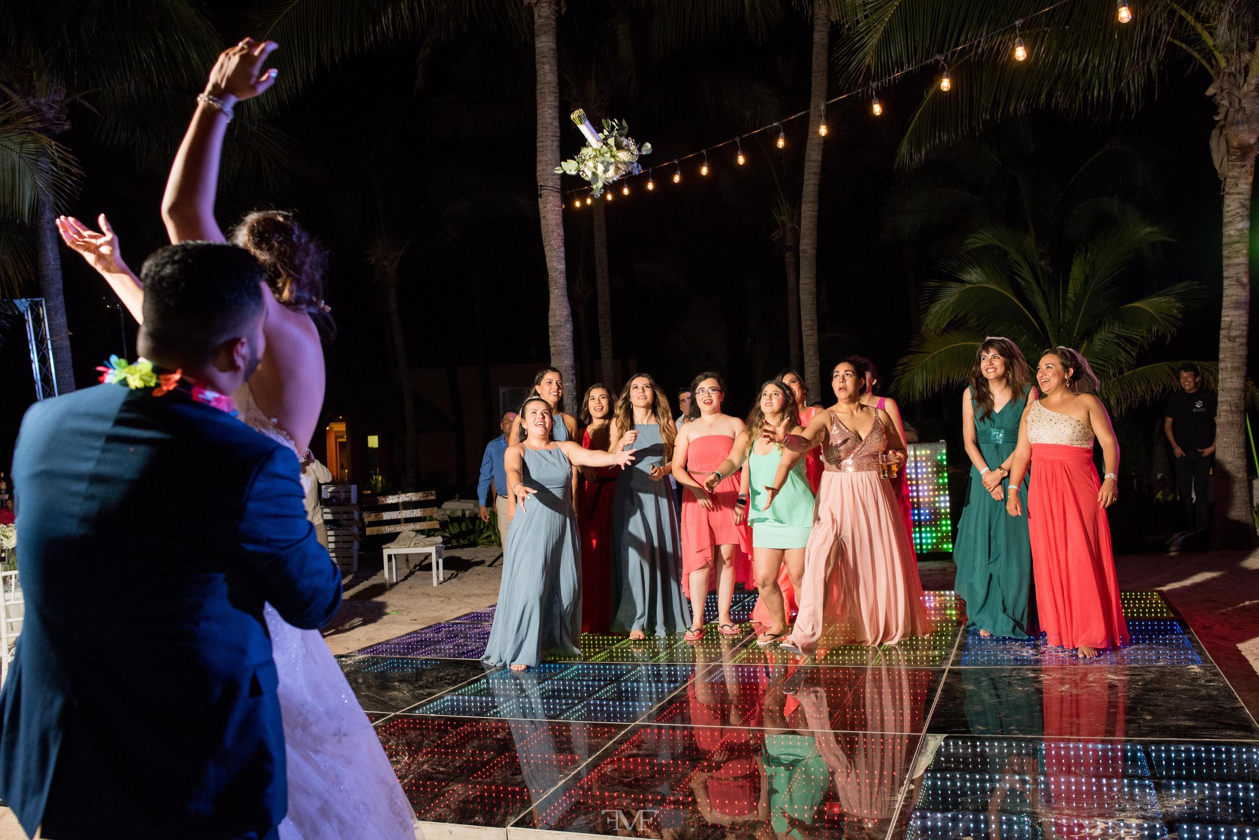 Fotografía de bodas en Playa del Carmen @BarceloRivieraMaya