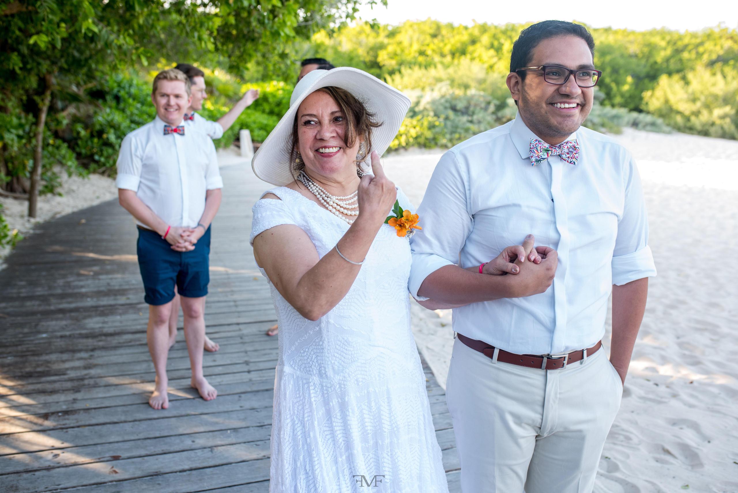 Fotografía de bodas en Playa del Carmen, Hotel @Iberostar