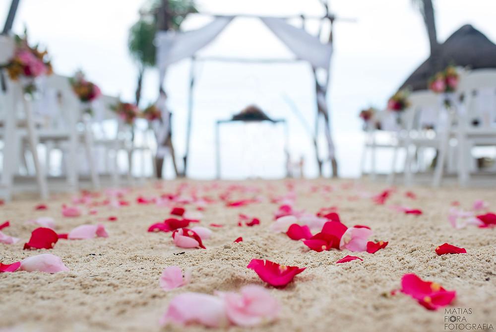 Fotografía de bodas en Playa del Carmen, Hotel @mahekal_beach_resort