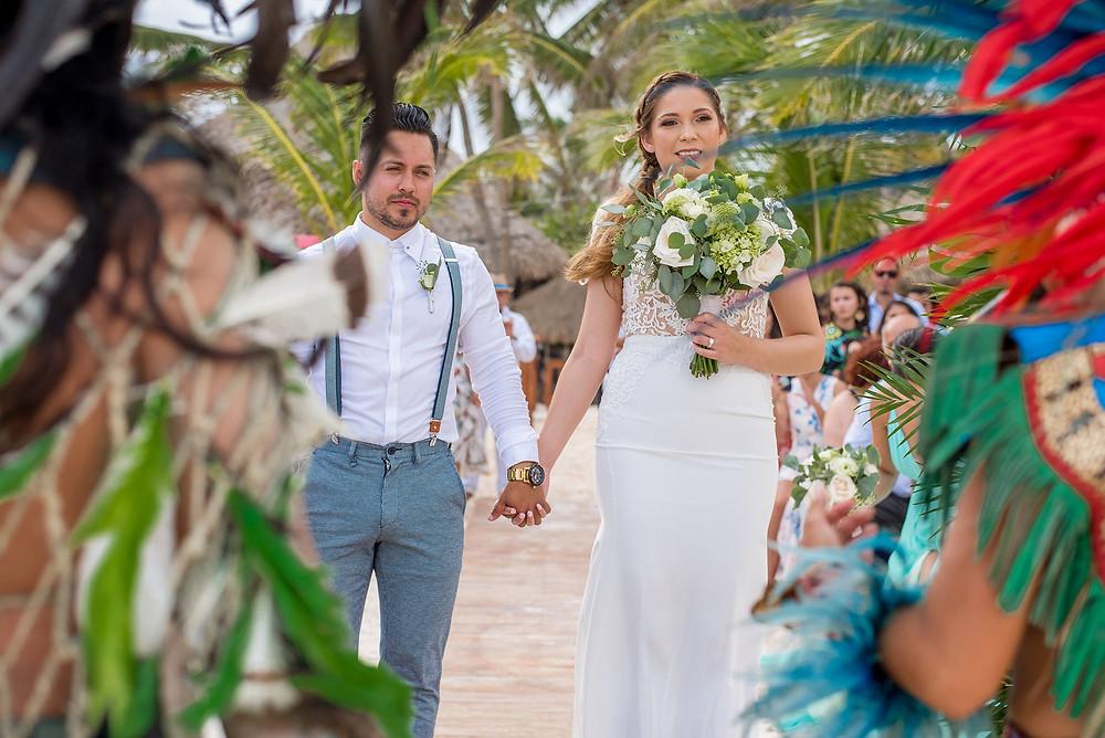 Fotografia de bodas en Tulum @AkiinBeachClub