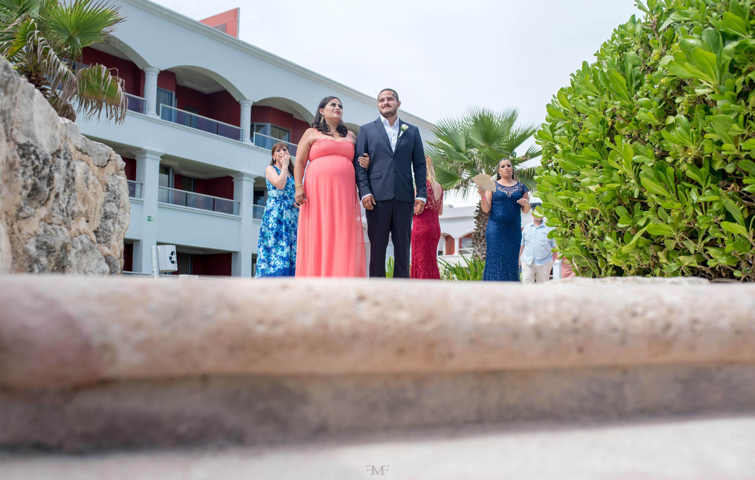 Fotografia de bodas en Playa del Carmen @HotelHardRockRivieraMaya