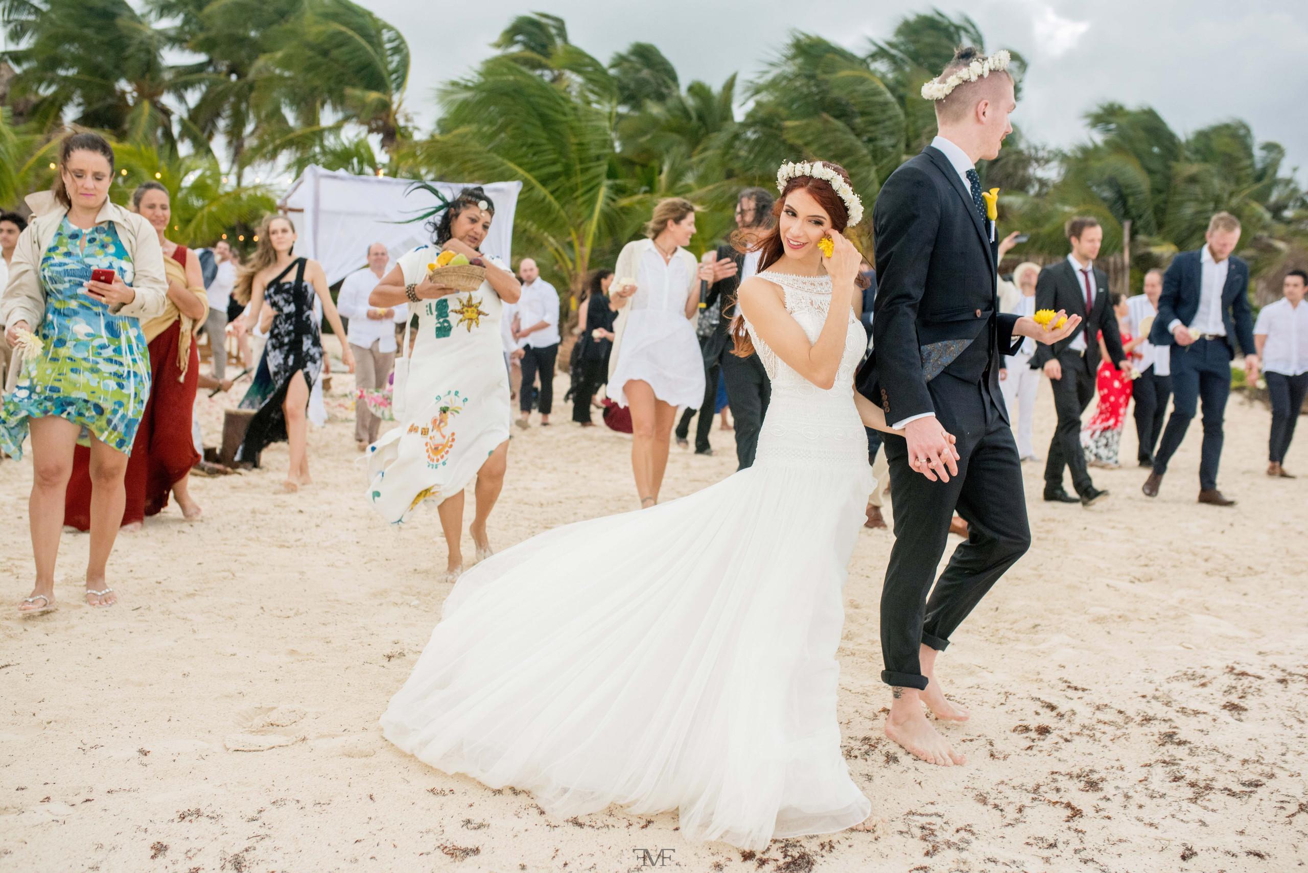 Fotografia de bodas en Tulum, @akiinbeach