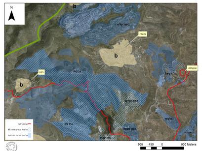 המסמך מראה בבירור - כך עובדים הצבא והמתנחלים ביחד כדי להרוס יישוב פלסטיני