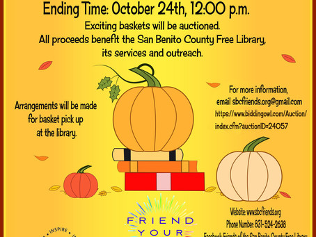 Friends of the Library Host Online Auction
