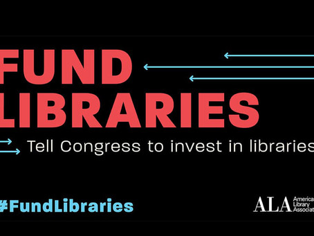 Advocacy Alert: Tell Congress They Can't Leave Libraries Behind