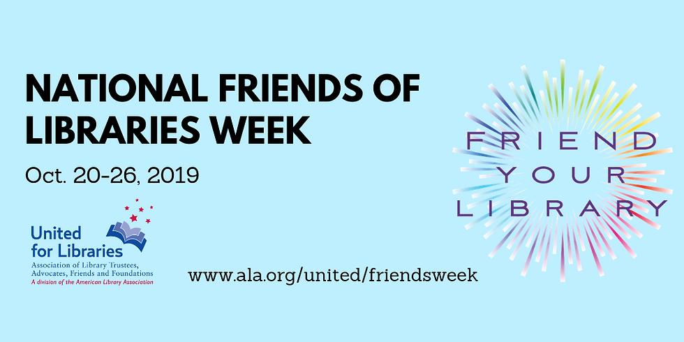 National Friends of Libraries Week