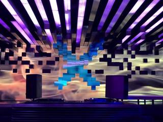 """LED екран в """"EXE"""" club"""