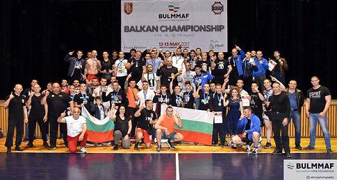 Българска федерация по ММА, Балкански ша