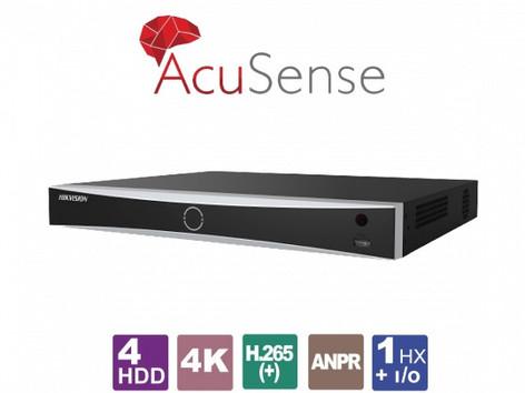 Видеорекордер с AcuSense технология