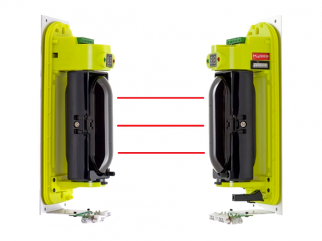 Инфрачервени бариери за външен монтаж с тройна оптика и обхват до 100 m