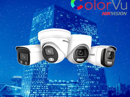 Камера за видеонаблюдение с нова технология ColorVu осигуряваща цветна картина при пълна тъмнина