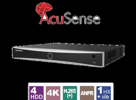 32-канален 4K мрежов рекордер (NVR) HIKVISION с DЕEP LEARNING алгоритъм за видеонаблюдение