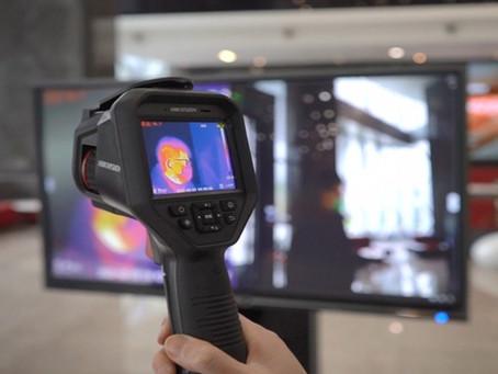 Термографска IP камера за измерване на температура на лица с точност ±0.5°С