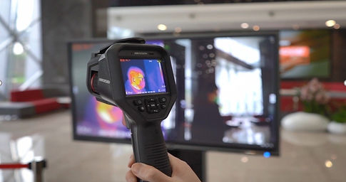 Ръчна термална камера за измерване на те