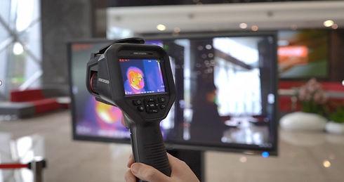 ръчна камера за измерване на температура