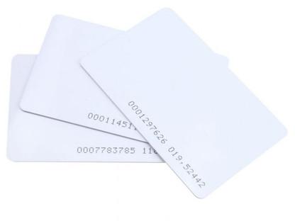 Безконтактни карти за контрол на достъп