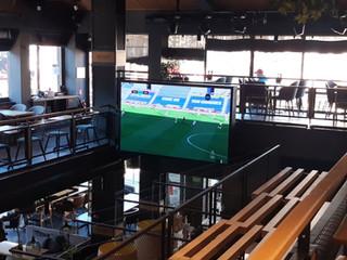 LED екран за Bar & Dinner GINGER Bansko