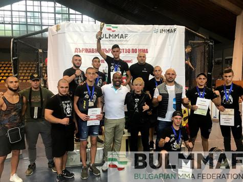 Българска федерация по ММА - BULMMAF, сн