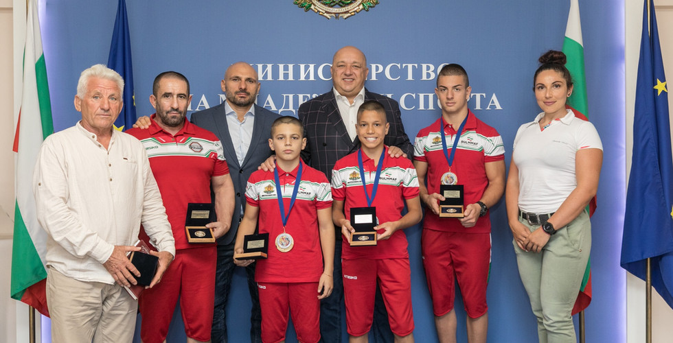 ММА за деца - Министерство на спорта - н