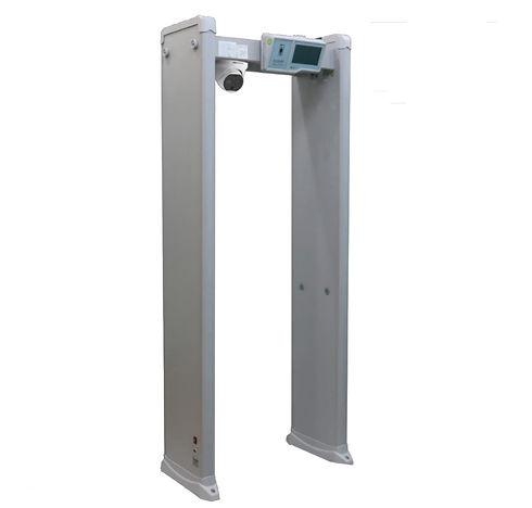 Метал детектор с детекция на температура