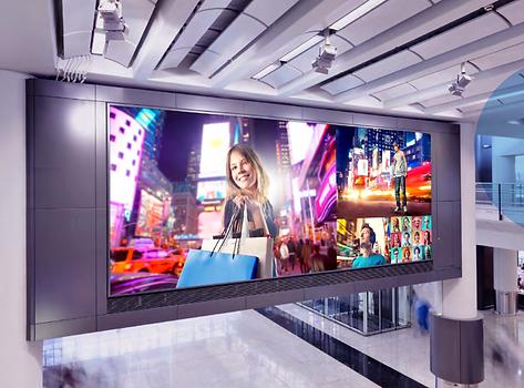 Лед екран търговски център.png