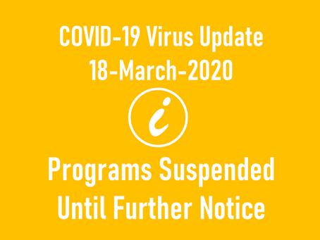 Copy of COVID-19 Virus Update 18/03/20