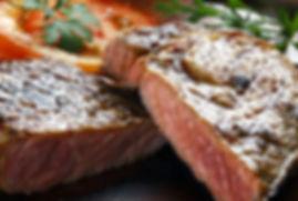 Viande de boeuf Salers, entrecote, faux filet, steak, restaurant viande salers.