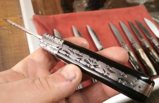 Couteau Artisanal fait à Salers