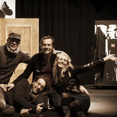 Les comédiens de La terre d'Havel